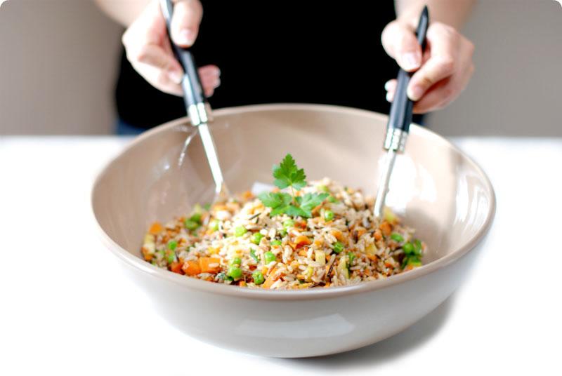 Cousa simboliza calidad - Ensalada de arroz light ...
