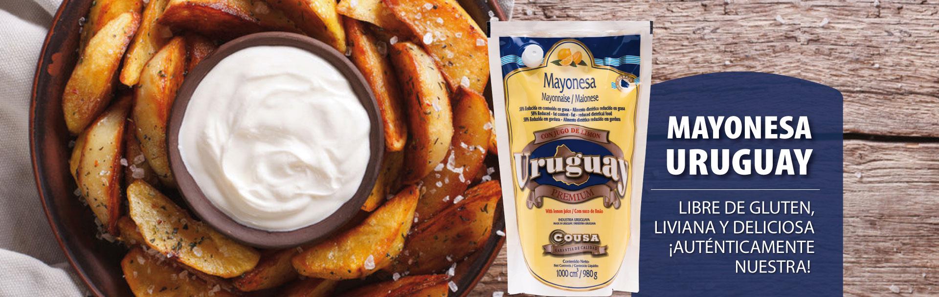 sachet de mayonesa uruguay